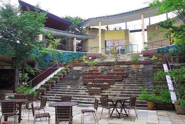 チャーチストリート軽井沢 1F 中央広場