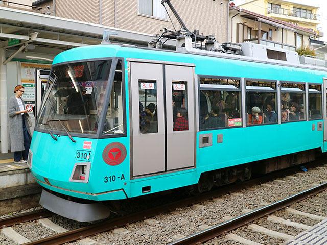 世田谷線の電車