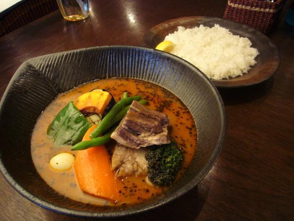 エゾシカto野菜カレー