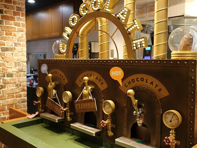 ISHIYA CAFE(イシヤ カフェ) 新千歳空港店 チョコレートサーバー