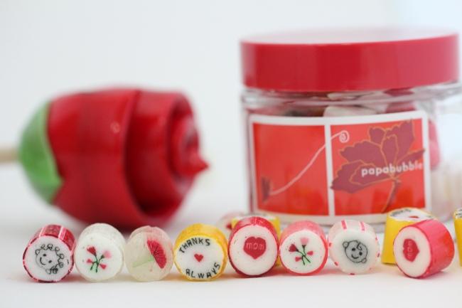 母の日限定のキャンディ