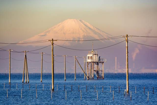 「江川海岸」 富士山も望める、息をのむほどの絶景