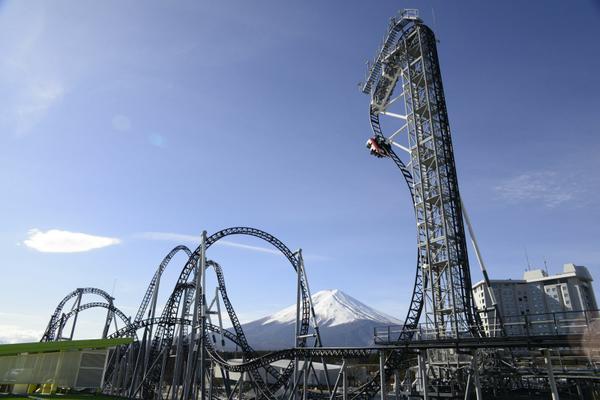 落下角度世界一の「高飛車」