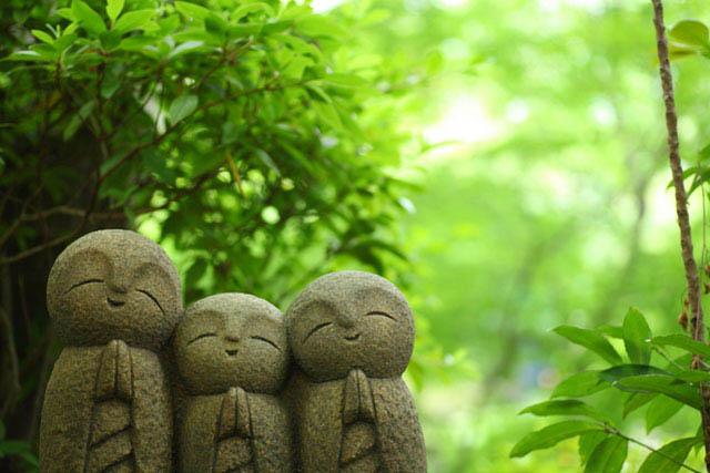 「長谷寺-良縁地蔵」 見つけることができると良縁に恵まれるんだとか