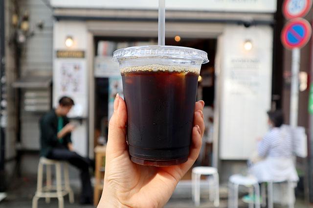 アイスコーヒー180円(税込)