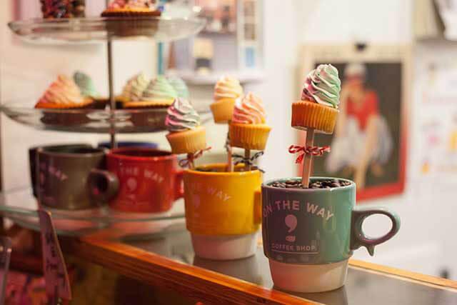 stick mini cupcake 250円