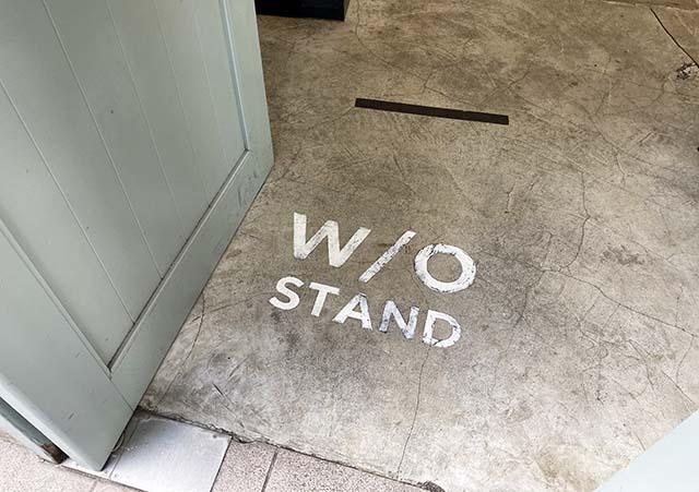 W/O STAND(ウィズアウトスタンド)