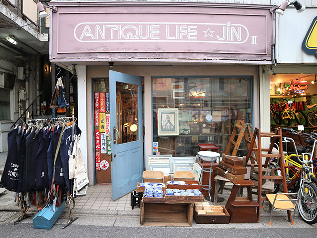 「ANTIQUE LIFE☆JiN2」 外観