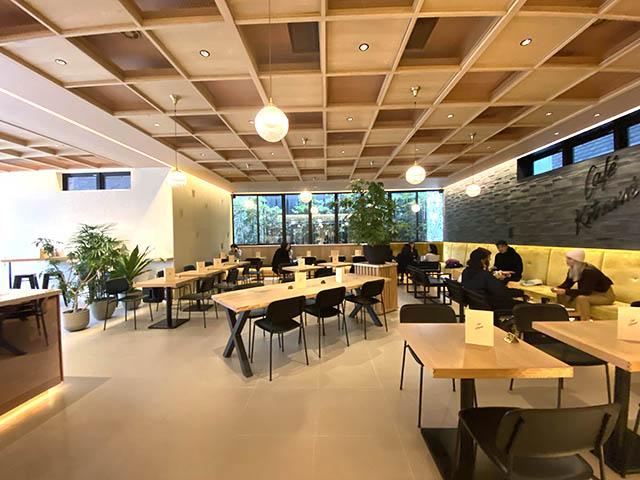 Café Kitsune(カフェキツネ) 店内