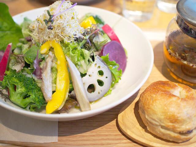 「季節のガーデンサラダ ランチ」1,540円