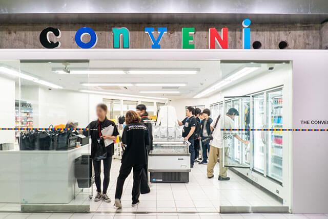 B1階のコンセプトショップ「THE CONVENI」