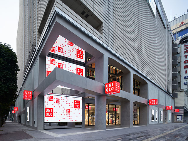 グローバル旗艦店「UNIQLO TOKYO」