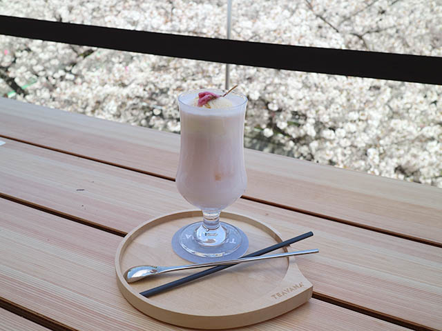 「ティバーナクリームソーダさくら」900円(税別)
