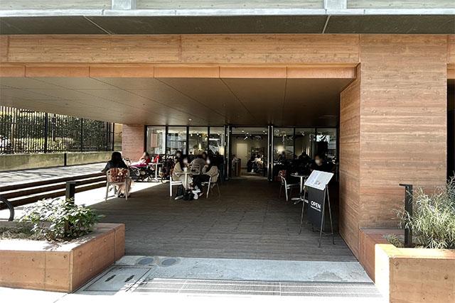 「OPEN NAKAMEGURO」外観