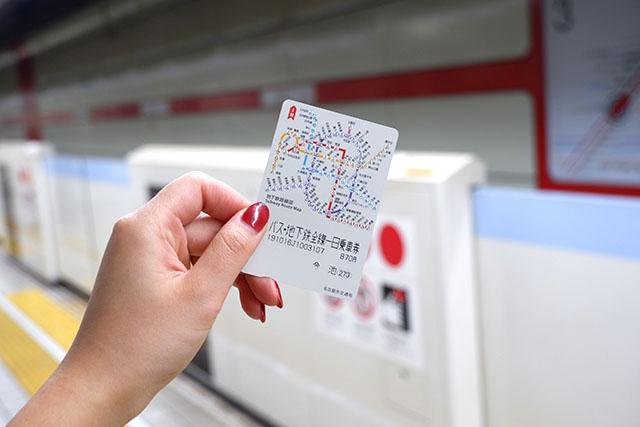 市バス・地下鉄全線一日乗車券 大人870円