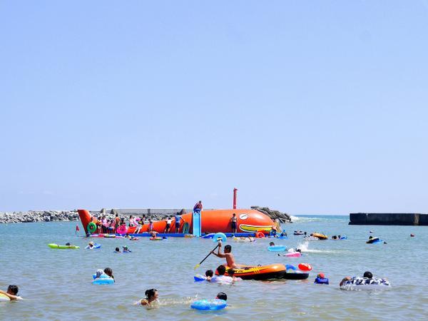 茨城県・ひたちなかの「平磯海水浴場(ひらいそ)」