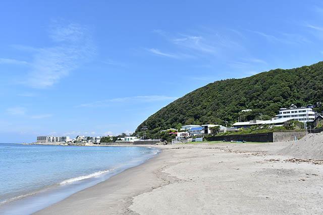 神奈川県・葉山の「一色海水浴場」