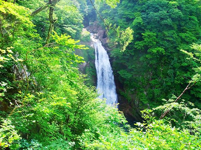 国指定名勝の「秋保大滝」