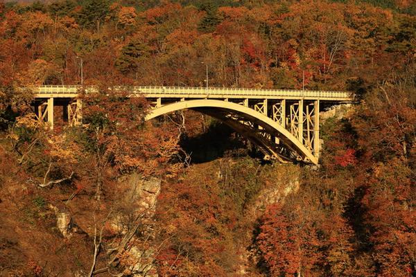 特に秋がおすすめ「鳴子峡(なるこきょう)」