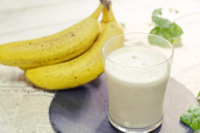 〈バナナジュースの嬉しい効果〉