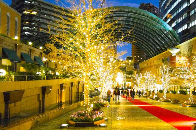恵比寿ガーデンプレイス「ウィンター・イルミネーション」例年の様子
