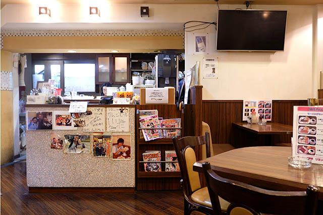 モーニング喫茶リヨン 店内