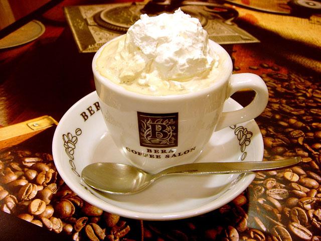 ウインナーコーヒー 500円