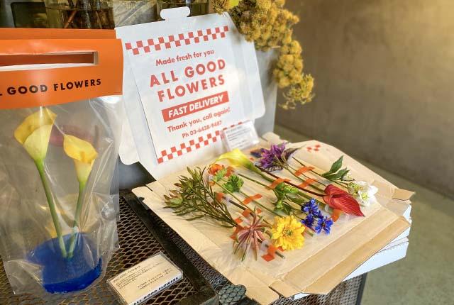 ご自宅用はもちろん、ギフト用にもぴったりのお花のデリバリーは3,500円(税抜)