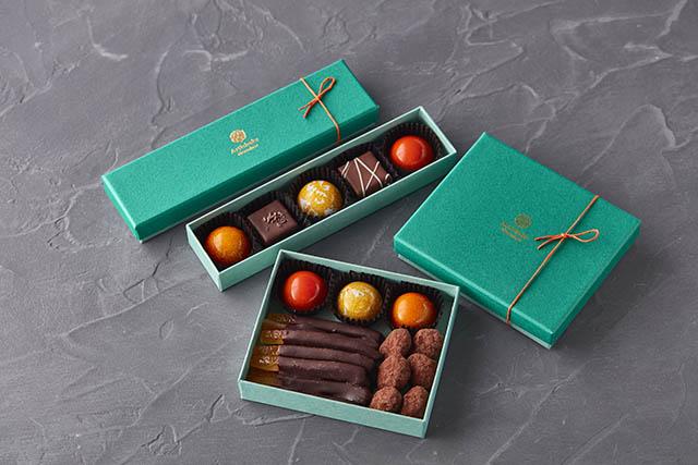 ビームス「Artichoke chocolate」写真上 1,650円/写真下 2,200円(ともに税込)※限定各60個