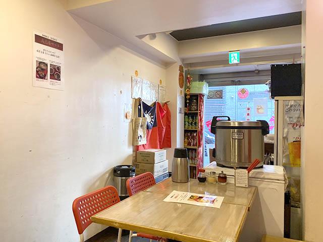 台湾麺線 店内