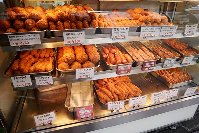 「大野屋牛肉店」 種類豊富な揚げ物はおかずにもぴったり