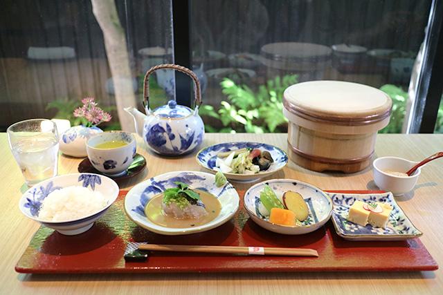 鯛匠HANANA 「鯛茶漬け御膳」2750円