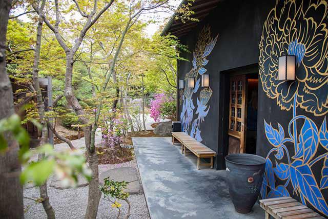 eX cafe京都嵐山本店 外観