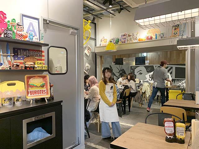 DAIGOMI BURGER(ダイゴミ バーガー) 店内