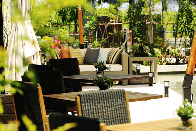 「THE GRAND ORIENTAL MINATOMIRAI(グランドオリエンタル みなとみらい)」 ガーデンテラス