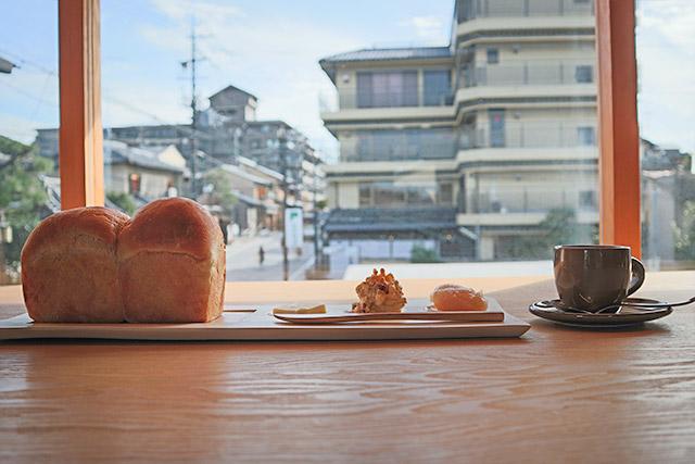 京都祇園茶寮 「焼き立て蔵だし食パン」1320円(税込)