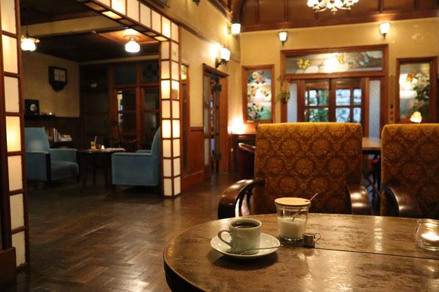 きんせ旅館 「ブラジルコーヒー」500円(税込)