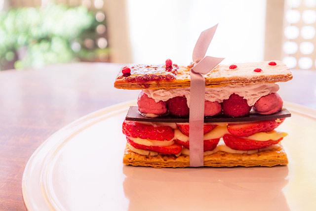 maison de frouge 「苺のミルフィーユ」720円(税込)※1人2個まで