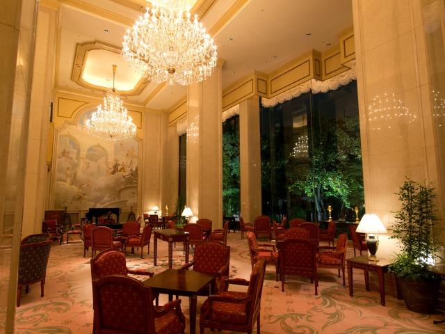 リーガロイヤルホテル東京 ガーデンラウンジ