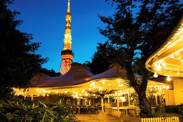 「森の中のビアガーデン(東京プリンスホテル)」も「東京都民応援キャンペーン」対象で20%OFF