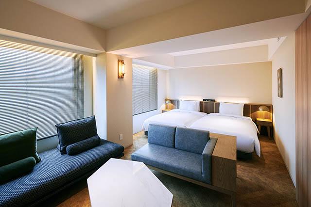 NOHGA HOTEL AKIHABARA TOKYO 客室:デラックスツイン