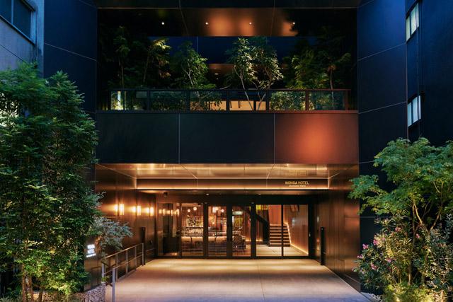 NOHGA HOTEL AKIHABARA TOKYO エントランス