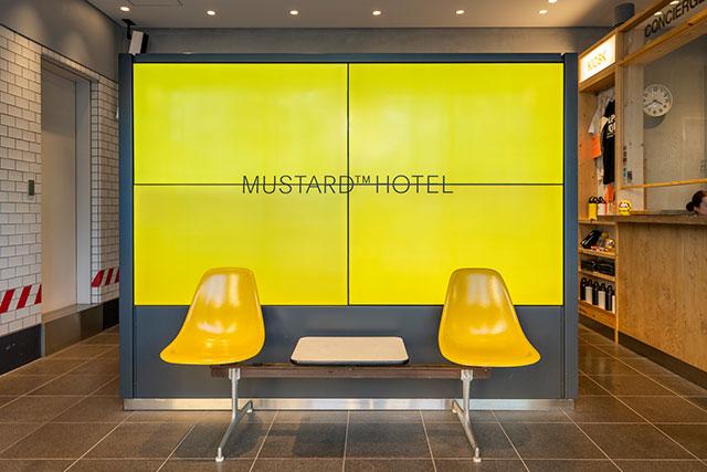 MUSTARD™ HOTEL SHIBUYA レセプション
