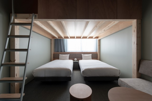 KAIKA 東京 客室:LOFT 4