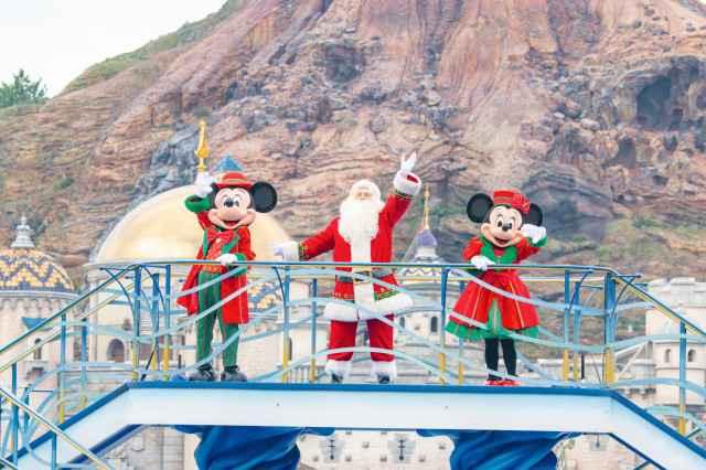東京ディズニーシー®ミッキー&フレンズのハーバーグリーティング クリスマスver.