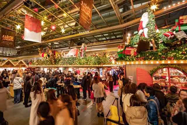 六本木ヒルズクリスマスマーケット 例年の様子