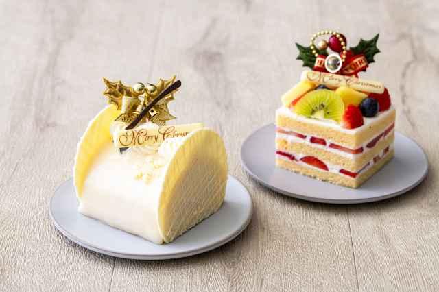 パティシエ特製のホテルメイドのクリスマスケーキ