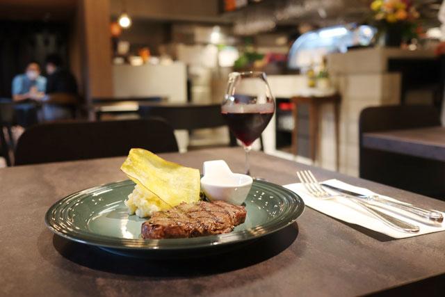 COOK BARN TOKYO(クックバーントウキョウ) 「常陸牛のランプステーキ」