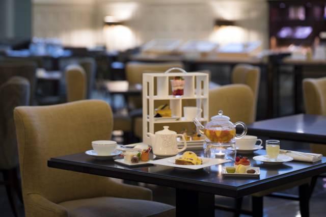 紅茶やコーヒーなど全11種がセットになった「ペントハウスアフタヌーンティー」6,280円(税サ込)