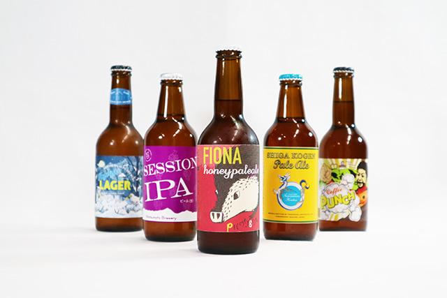 デザインも目を惹くクラフトビール